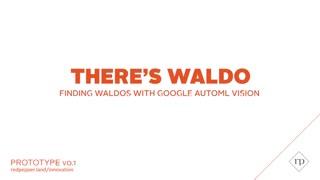 """""""Acá está Wally"""", el robot que busca a Wally"""