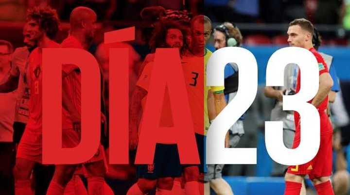 Mundial Rusia 2018 - Día 23 - Mundial de locos