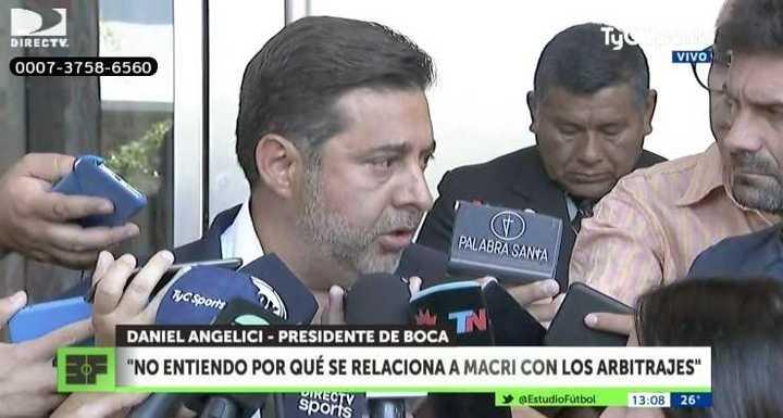 """""""Me siento a hablar con Macri porque es mi amigo"""""""