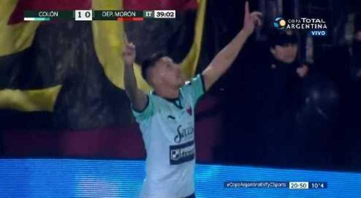 Colón 1 - Morón 0. Correa marcó el primero - Copa Argentina 2018
