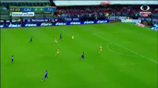 El gol de Cruz Azul a Tigres para el 1-0
