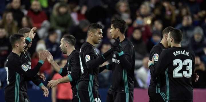Los goles de Real Madrid 3 - Leganés 1