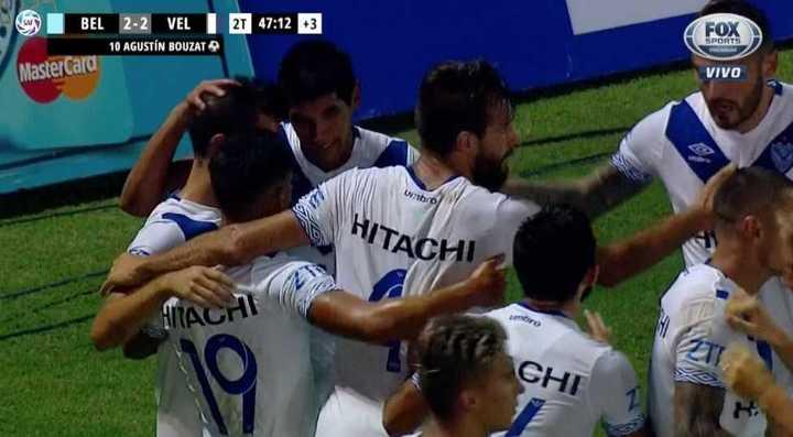 Belgrano 2 - Vélez 2