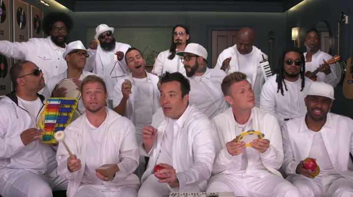 "Los Backstreet Boys volvieron a cantar ""I want it that way"" con Jimmy Fallon"