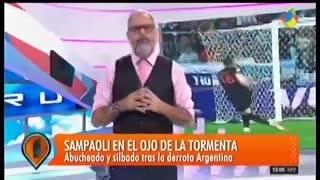 Jorge Rial cuestionó a los periodistas deportivos que velaron a la selección.