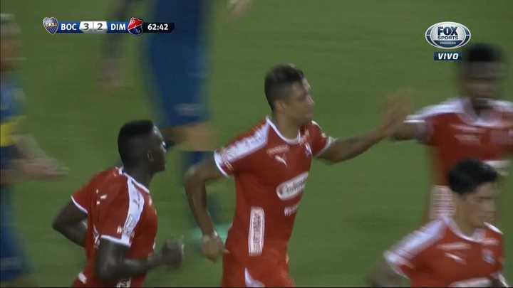 Boca 3 - Independiente de Medellín 2