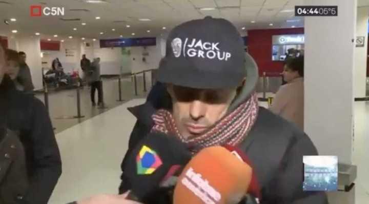 El argentino que humilló a la joven rusa volvió al país y pidió disculpas