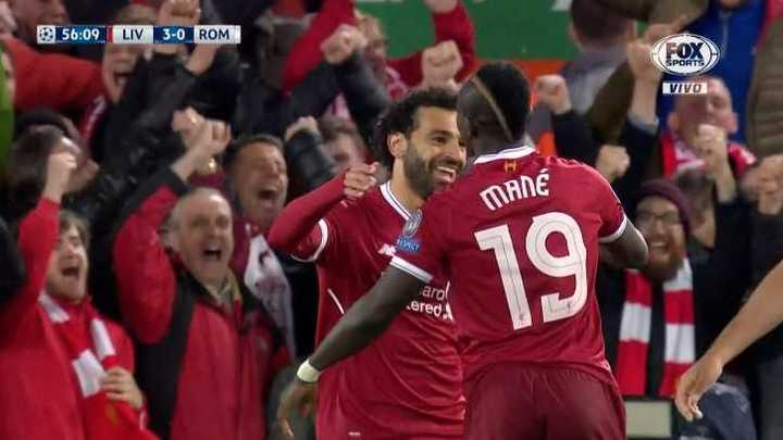Liverpool 3 - Roma 0