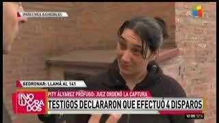"Ex mujer de Cristian Díaz, asesinado a tiros por ""Pity"" Alvarez."