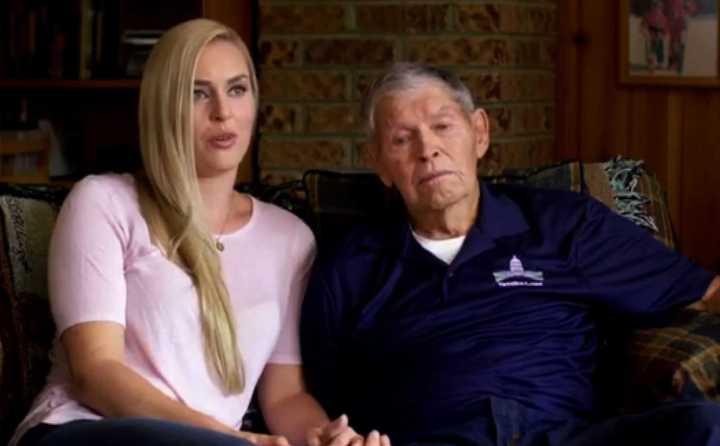 Lindsey Vonn le dedicó un emotivo vídeo a su abuelo fallecido