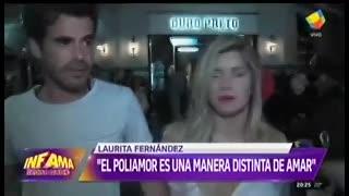 Nicolás Cabré enojadísimo, desmintió a Ana María Picchio.