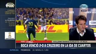 """""""Era importante ganar el partido y llegar bien para enfrentar a River"""" dijo Guillermo Barros Schelotto"""