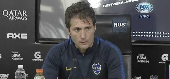 """Guillermo Barros Schelotto: """"Rossi va a ser el arquero"""""""