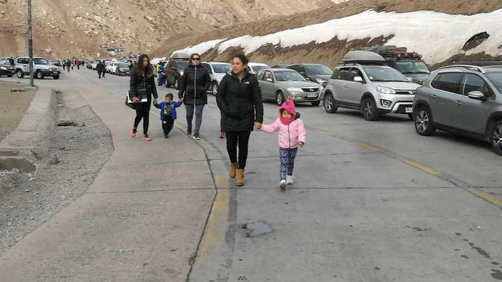 Más de 20 mil chilenos llegaron el fin de semana a Mendoza