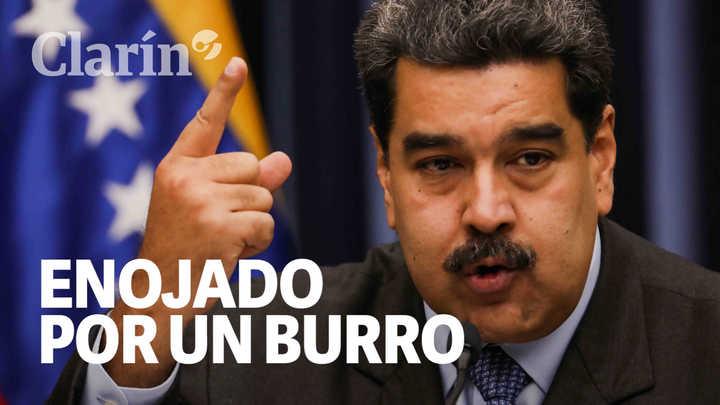 El fastidio de Nicolás Maduro en una conferencia de prensa