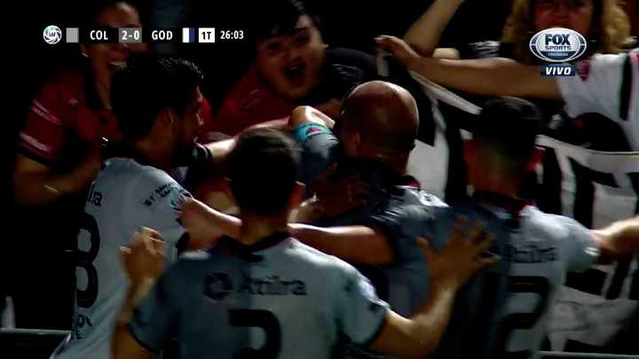 Otro gol de Leo Heredia para Colón