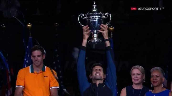 Novak Djokovic es el campeón del US Open