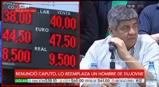 """Pablo Moyano: """"Lo que más bronca da es ver al presidente bailando con el FMI"""""""