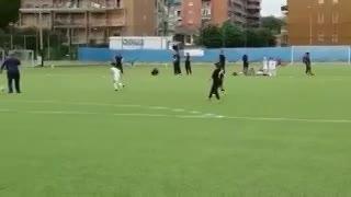 El primer gol del hijo de Cristiano Ronaldo en Juventus. (YouTube)