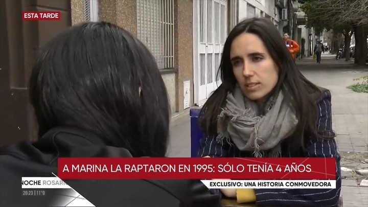 Video: la mujer que se reencontró con su madre 24 años después cuenta qué sintió cuando volvió a verla