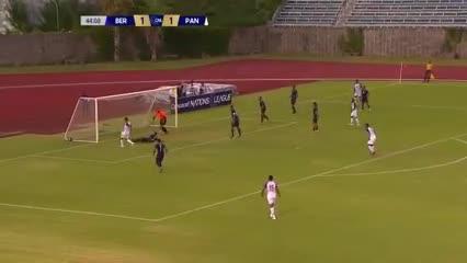 La goleada de Panamá ante Honduras