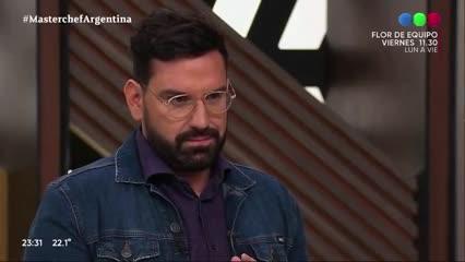 Video: Daniel Aráoz se lució con un risotto en MasterChef Celebrity