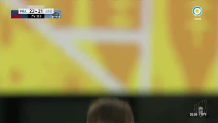 Emiliano Boffelli erró un penal clave sobre el final.