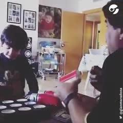 Video: El recuerdo de Gianinna, en el primer día del padre sin Diego Maradona