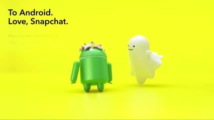 Snapchat rehízo su app para Android