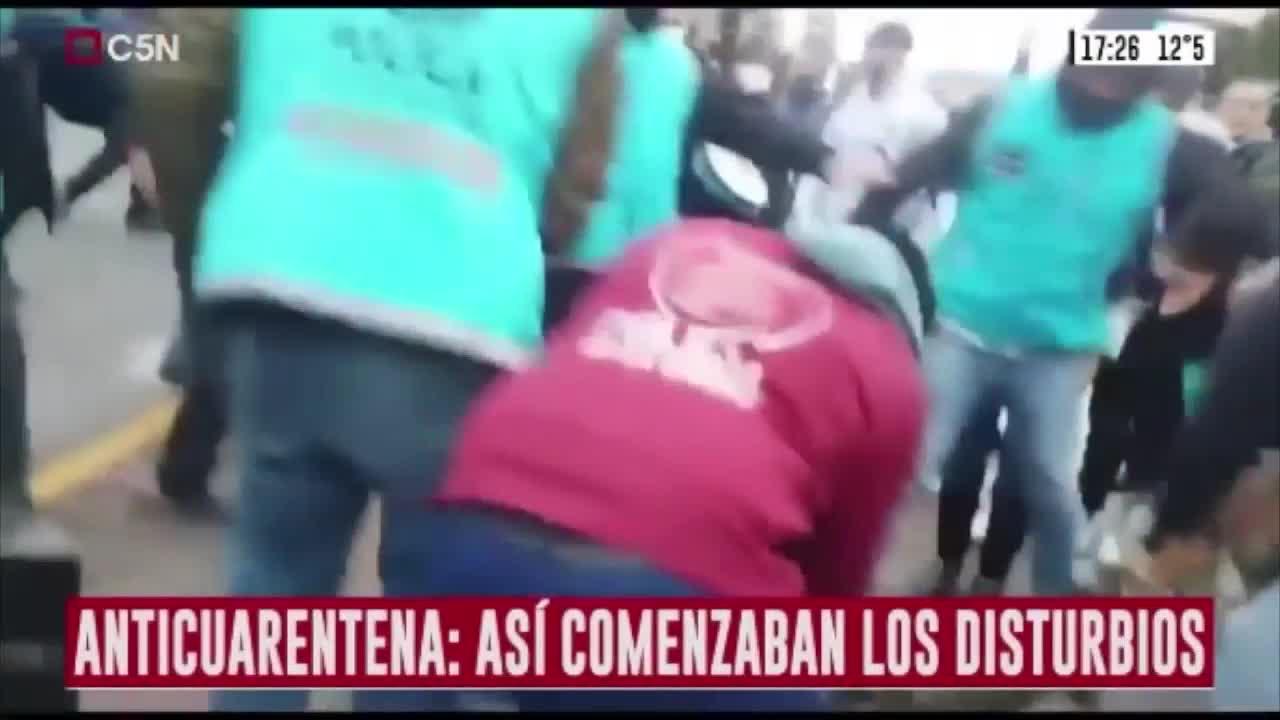 Video: Hubo incidentes en el obelisco