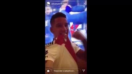 Sebastián Driussi le dedicó el campeonato a Benedetto por su burla a Montiel en el gol.