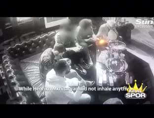El escandaloso video de las estrellas del Arsenal inglés consumiendo