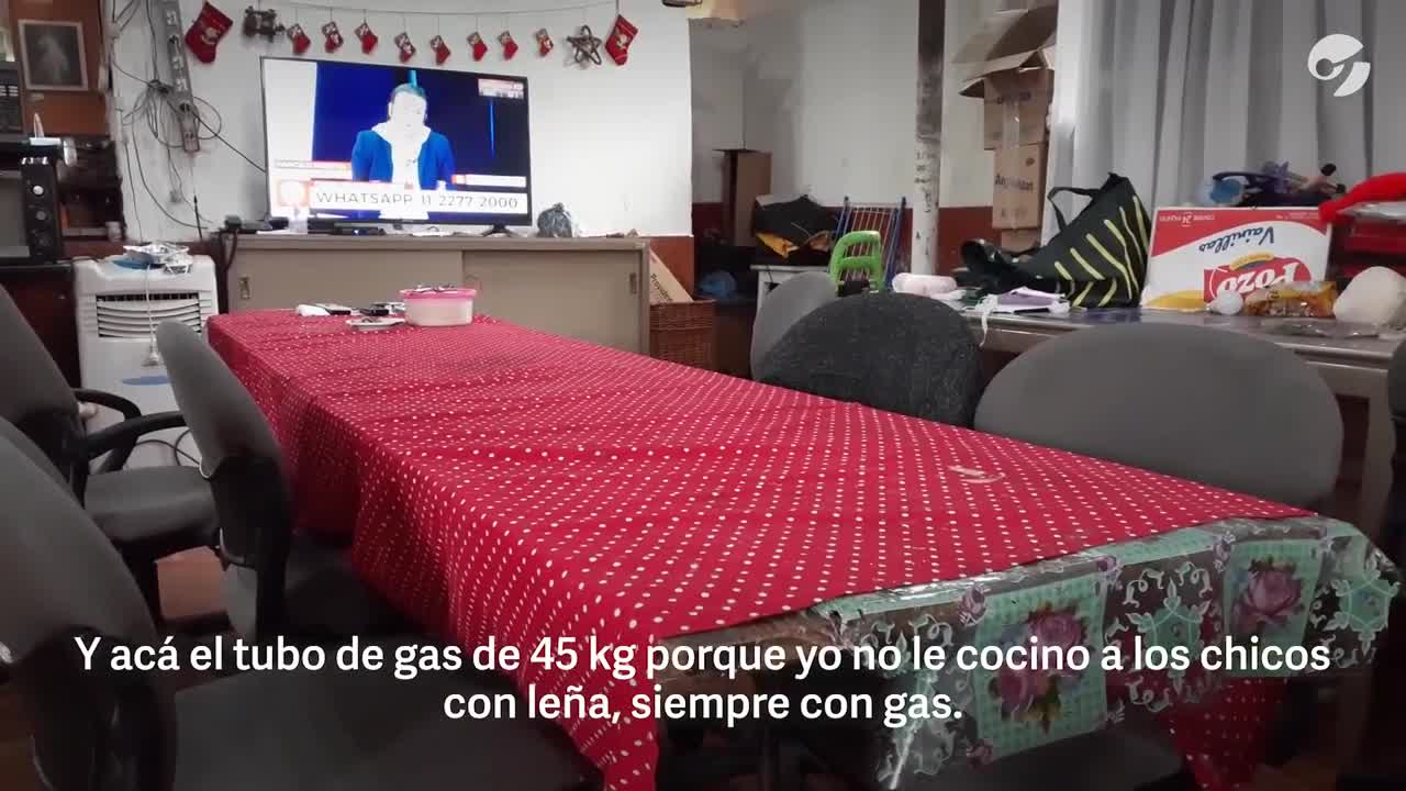 Coronavirus en Argentina: La complicada situación del Comedor Los Cebollitas en Villa Azul. (Guillermo Rodríguez Adami)