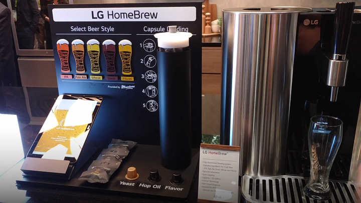 Así funciona HomeBrew, la máquina de hacer cerveza de LG