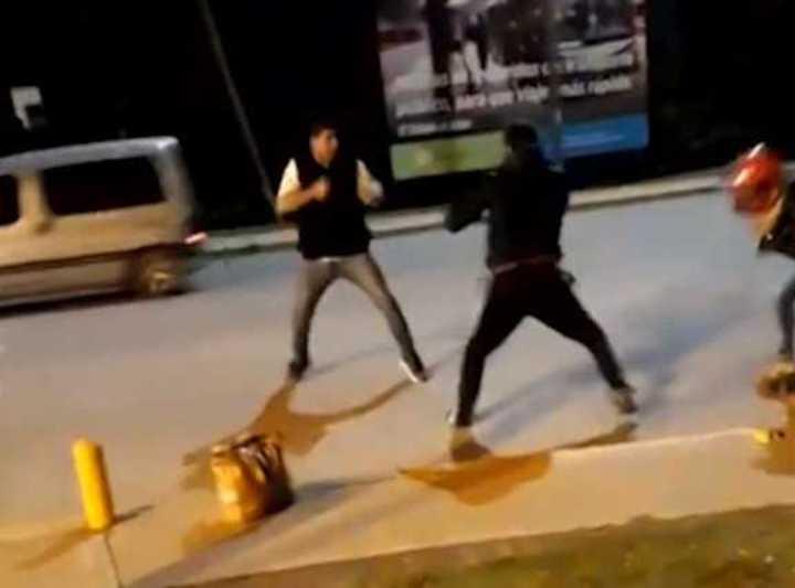 Nuevos videos del criminal recorrido que hizo el conductor