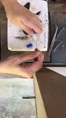 Video: así operan de un ala a una mariposa Monarca