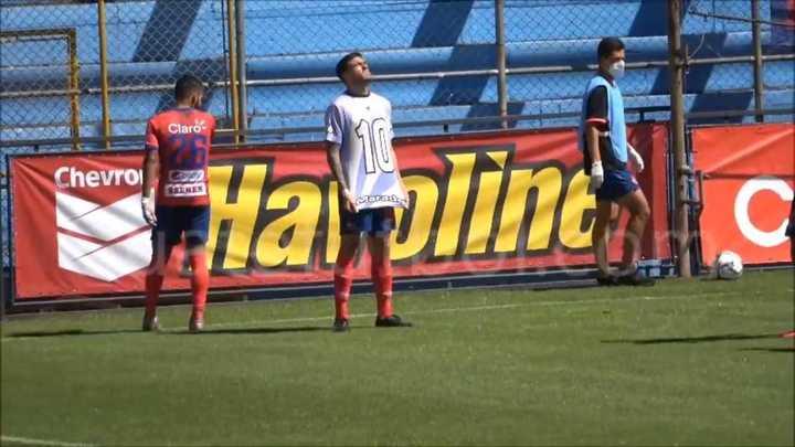 Los cuatro goles de Ramiro Rocca ante Deportivo Iztapa, con una dedicatoria especial, video.
