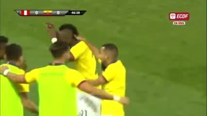La victoria de Ecuador sobre Perú.