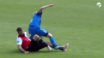Video: tremenda lesión de Lucas Pratto