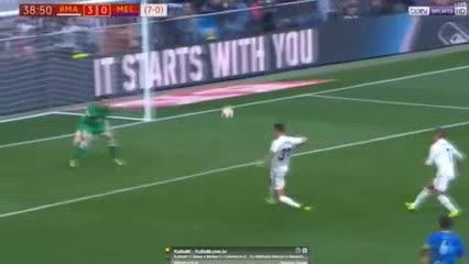 Real Madrid 6 - Melilla 1