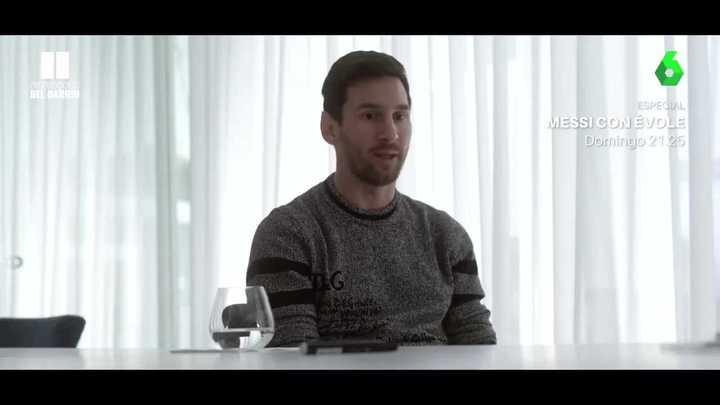 El adelanto de la entrevista a Messi que saldrá el domingo en La Sexta, video.