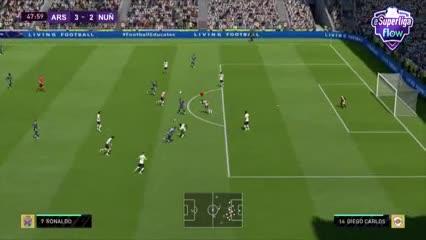 Video: los mejores goles de la décima fecha de eSuperliga Flow