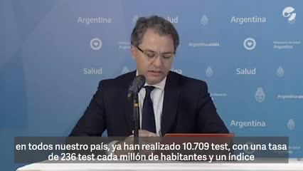 Coronavirus en Argentina: cantidad de test realizados hasta el 5 de abril