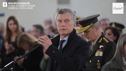 Video: La polémica frase de Mauricio Macri