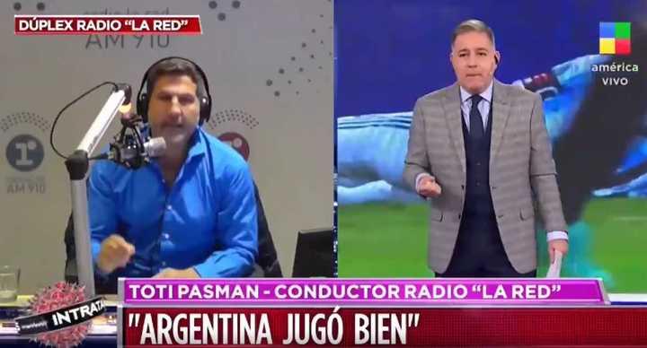 Video: Toti Pasman se pregunta si Messi no se sacó una mochila tras la muerte de Maradona
