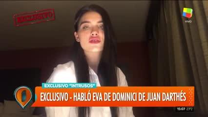 Eva De Dominici contó en un video que fue acosada por un director de cine. Parte 2.