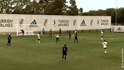 Video: Los goles de Fabián Londoño, el colombiano goleador de la Reserva de River