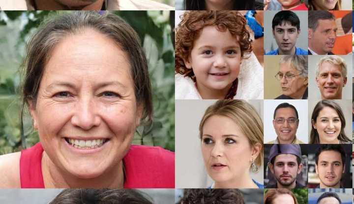 Investigadores de Nvidia logran sintetizar rostros humanos perfectos