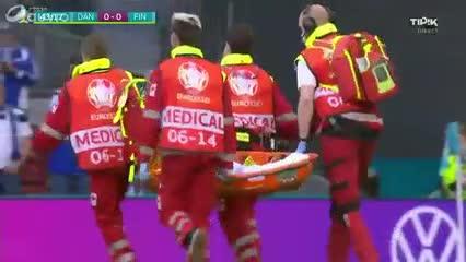 Drama en la Eurocopa: Christian Eriksen se desplomó en pleno partido