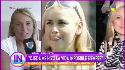 Rocío Oliva, durísima contra Verónica Ojeda.